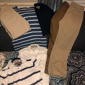 Lot of mixed pants shirts shorts PFG